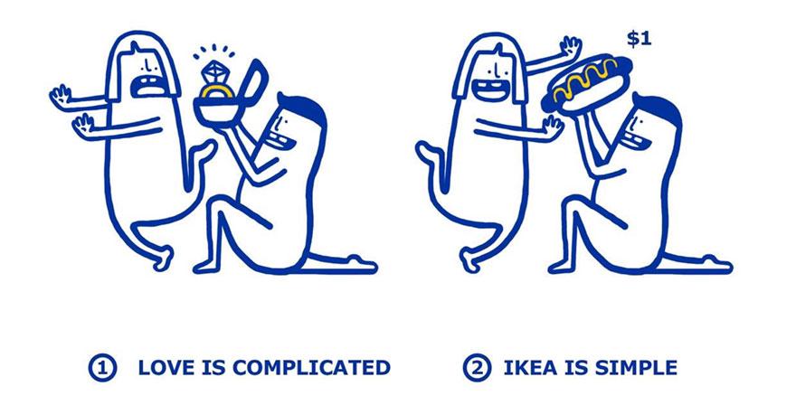 你可能以為IKEA只是買傢俱的地方,但他們這本「愛情組裝手冊」會教會你真正輕鬆戀愛的秘訣!