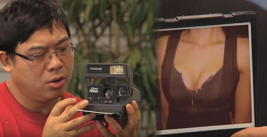 只會拍胸部照相機