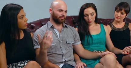 這名男子有三個女朋友已經夠誇張,但當訪問到這3個女生的時候,你才會發現可能一夫一妻制是錯誤的方法?!