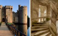 全歐洲大多數的城堡的階梯都是順時鐘,發現原因後才了解以前的人比我們聰明多了!