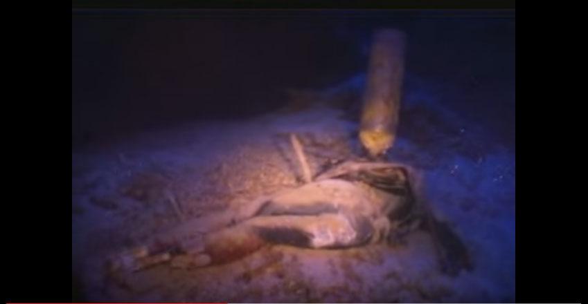 他們在潛水時在山洞水底隧道裡看到了最驚悚的一幕!心臟不夠強的人勿入!