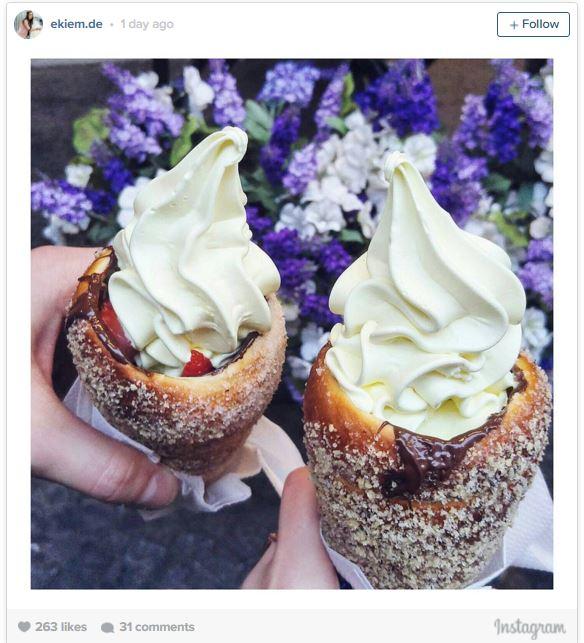 最近推出的「據說吃了會飛上天的超夢幻冰淇淋甜甜圈甜點」,光看熱呼呼製作過程網友已經暴動跪求快進軍台灣!