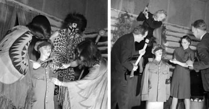 巫毒信徒在1941年舉辦的「把希特勒下死咒殺死活動」照片首度流出,切下頭的瞬間可能就是我們打贏的原因?!