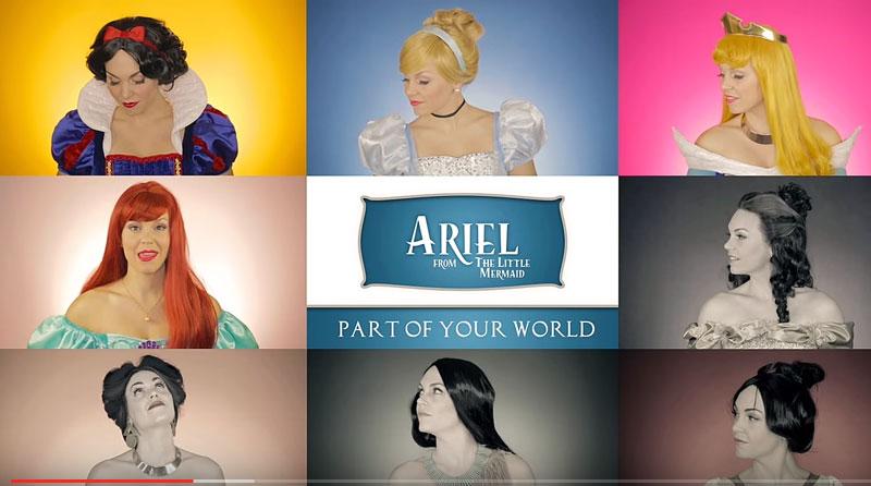 這個女生在幾分鐘內唱完75年14個迪士尼公主的主題曲,超完美詮釋比看百老匯都還精采了!