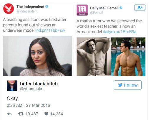 她分享這兩則報導時很多網友都看不出重點,她又分享其他報導後網友才驚覺「女性真的活得太不公平」!