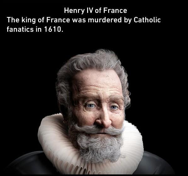10個經過電腦虛擬重建後的「真實古人樣貌」,理查三世長得也太像《史瑞克》的那個人了吧!