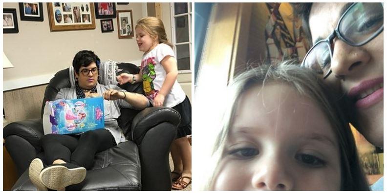 當這個6歲小女孩知道她爸爸「想當女生」時,她第一時間的暖心反應讓所有人都掉淚了!