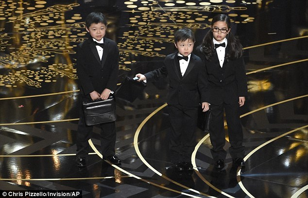 'If anybody's upset about that joke, just tweet about it on your phone, which was also made by these kids,' Rock said about the Asian gag