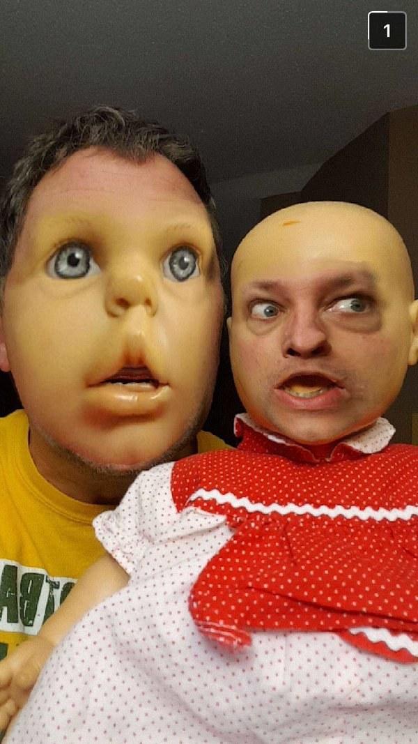 19個用換臉濾鏡用到走火入魔的「已經製造出人間地獄」人類。