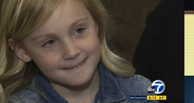 This is 5-year-old Khloe Russell from Hemet, California. She had a terribly runny nose for six months straight.