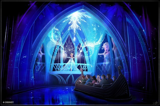 ...and, tbh, it looks pretty magical. The Frozen Ever After attraction is coming to Epcot in 2016.