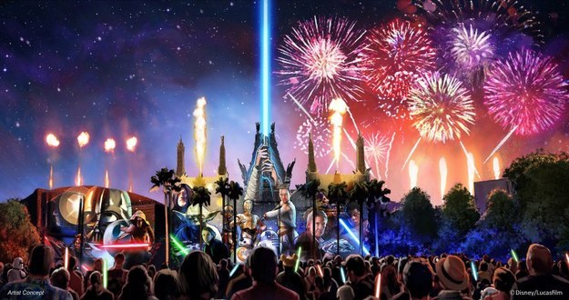 """Disney World is making quite a few additions this year. Beginning this summer, a new fireworks show, """"Star Wars: A Galactic Spectacular,"""" will debut in Hollywood Studios."""