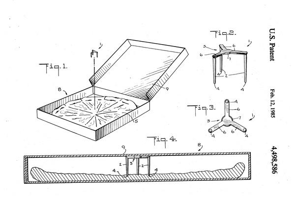 我以為披薩盒中間的小塑膠架是固定披薩用,知道真相後我懷疑發明人根本是從未來來拯救人類的!