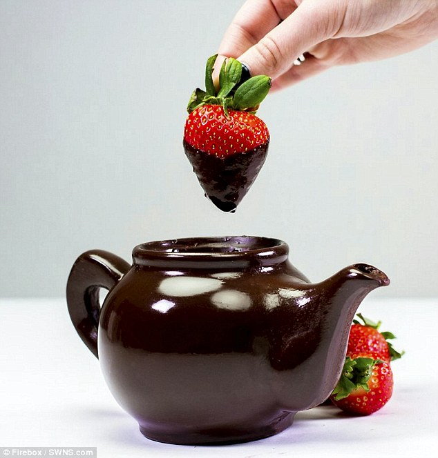 It can also be used as a chocolate fondue to dip sweet treats and fruit into, and has proved very popular in the run up to Easter