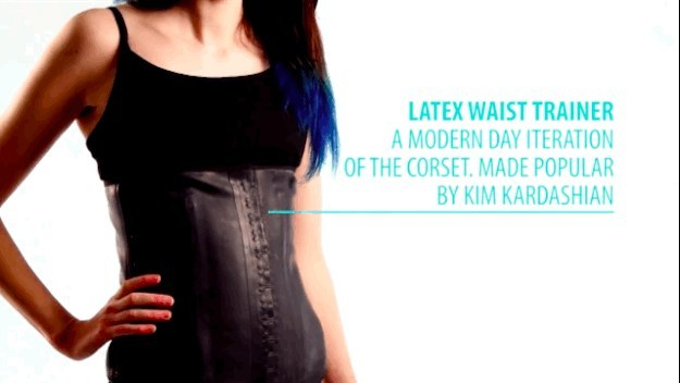 Most women don't wear a corset on a day-to-day basis anymore.