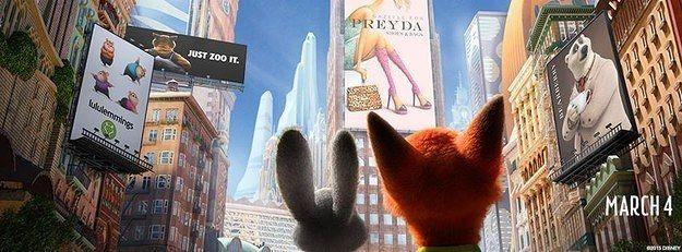 迪士尼說《動物方城市》是有史以來最多彩蛋的電影,看完後覺得去看第二次會更好看!