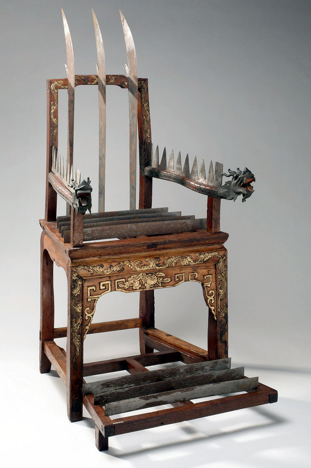 The Chinese Torture Chair