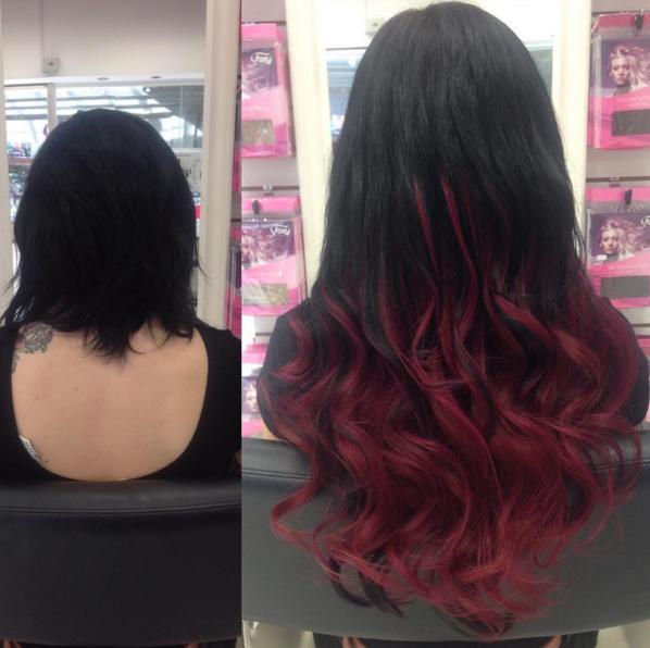 Hair Transformation 9