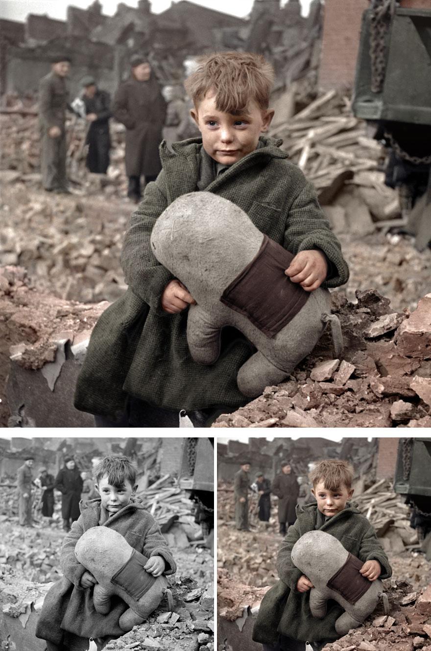 3. An orphan boy in London