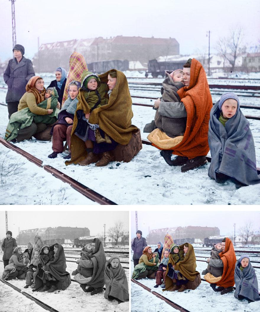 14. Polish refugees