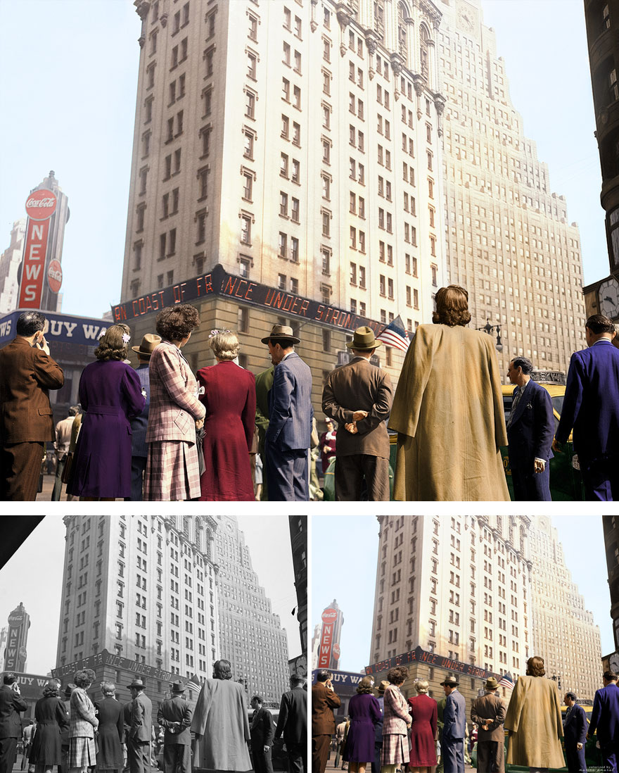 18. New York on D Day