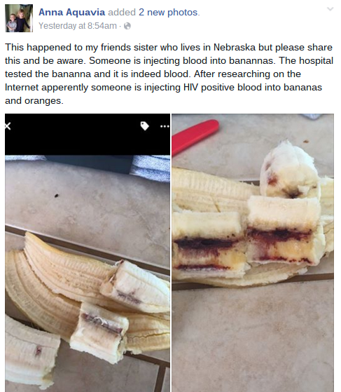 banana hiv