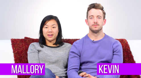 Mallory and Kevin typically have sex 5 times a week.