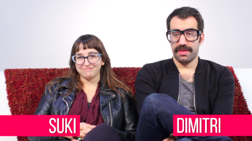 While Suki and Dimitri are more of a 2-3 times a week type of couple (although Dimitri feels like it's more of a once a month affair).