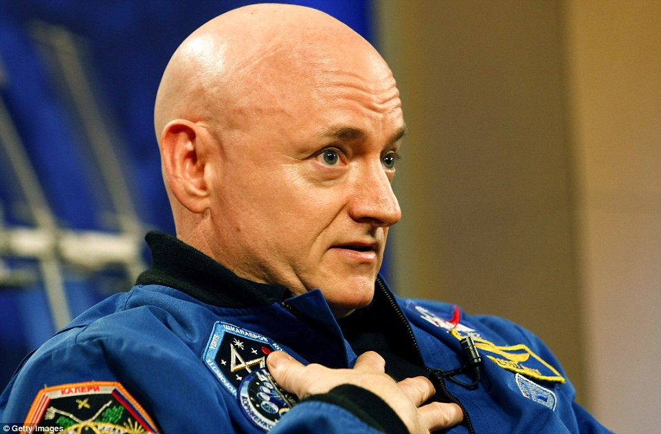 Scott Kelly is having a tough time adjusting to life back on Earth after spending a record-breaking 360 days in space. In his first press conference since landing on Tuesday, the space-endurance champion revealed how gravity is proving painful. He says one of the biggest problems is an unexpected sensitivity of his skin, which feels like it's 'burning' whenever he sits down or walks
