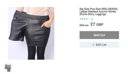 服飾網站為了效果找爆瘦模特兒示範XXXL褲子很侮辱人,結果右邊這個服裝設計師的神打臉讓網友全都起身鼓掌!