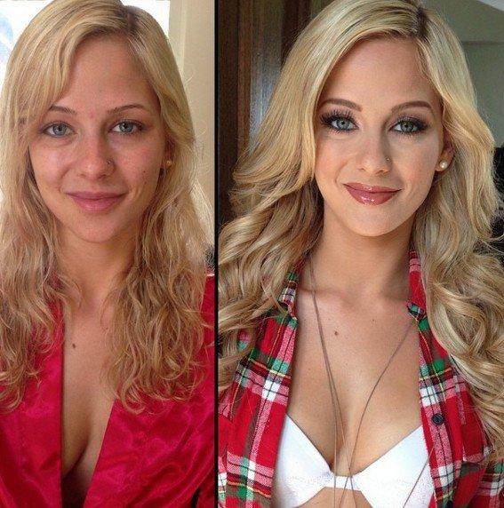 這個色色片彩妝師公布這些「素人變女神的上妝前後對比照」,一流出嚴重毀滅粉絲幻想世界,讓她立刻被炒魷魚!