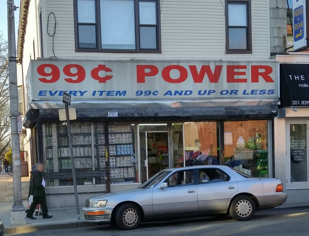 This store, where everything is available at any price.