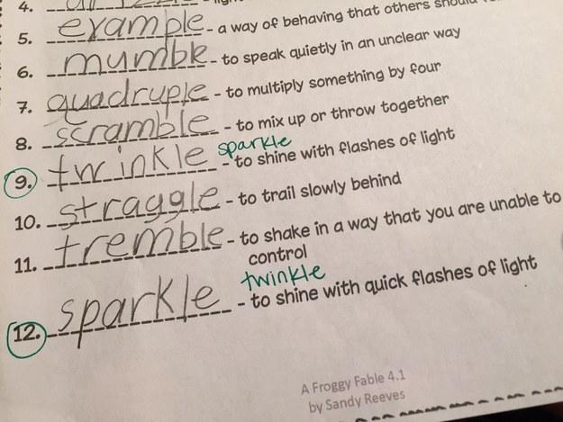 This homework.