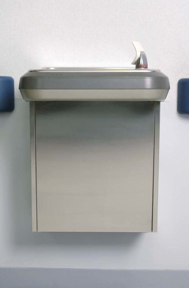 But while we're on the subject, can we talk about regular water fountains for a moment? They're equally horrifying...