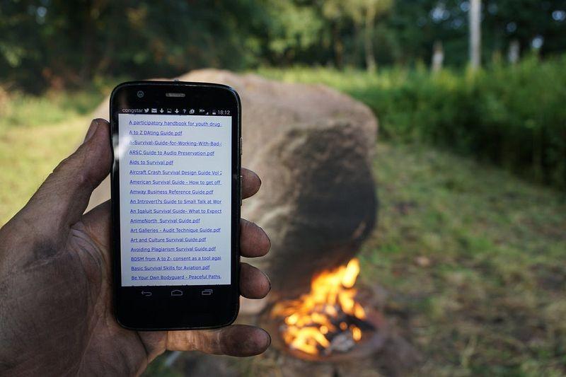 當有天世界末日後,只要燒這顆不起眼的大石頭就能重新啟動人類文明!