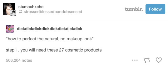 """This proof that """"natural"""" isn't really """"natural"""" at all:"""