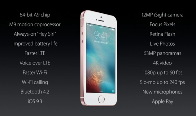 蘋果2016春季發表「新產品特點一次看完」,新的iPhone尺寸真的讓人太心動了!