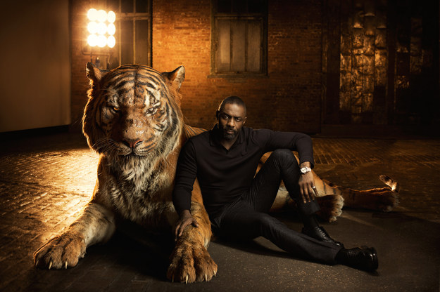 Idris Elba voices Shere Khan, who was wronged by mankind and thinks Mowgli must be destroyed for the good of the jungle.
