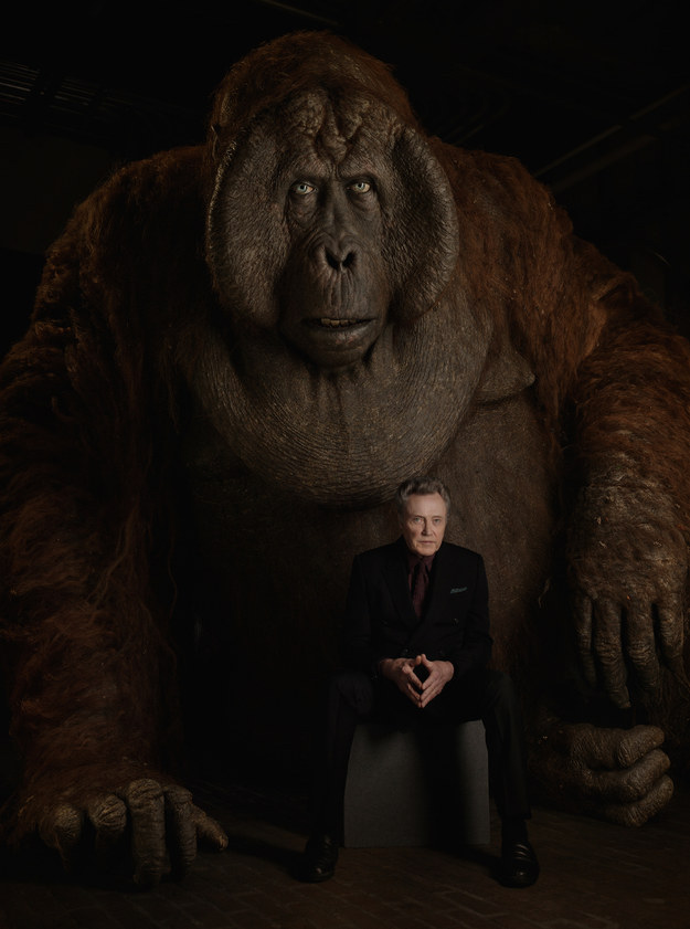 And Christopher Walken voices King Louie, the ape desperate to learn the secret of how to make fire.