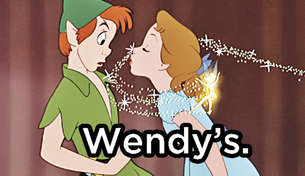 Where is Peter Pan's favorite place to eat out?