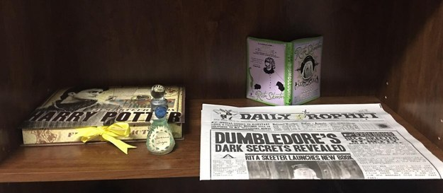 And a copy of the Daily Prophet that Harry relied on so heavily when he was with the Dursleys? CHECK.