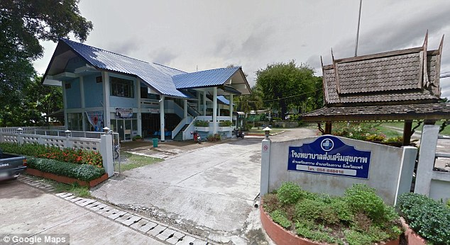 The woman was treated atRong Kwang Hospital in the far northeastern part of Phrae Province in Thailand