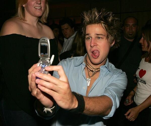 Selfies in 2006: