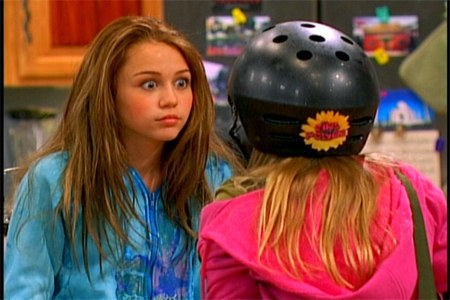 Miley Cyrus in 2006: