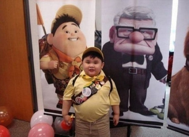 Russel from Up.