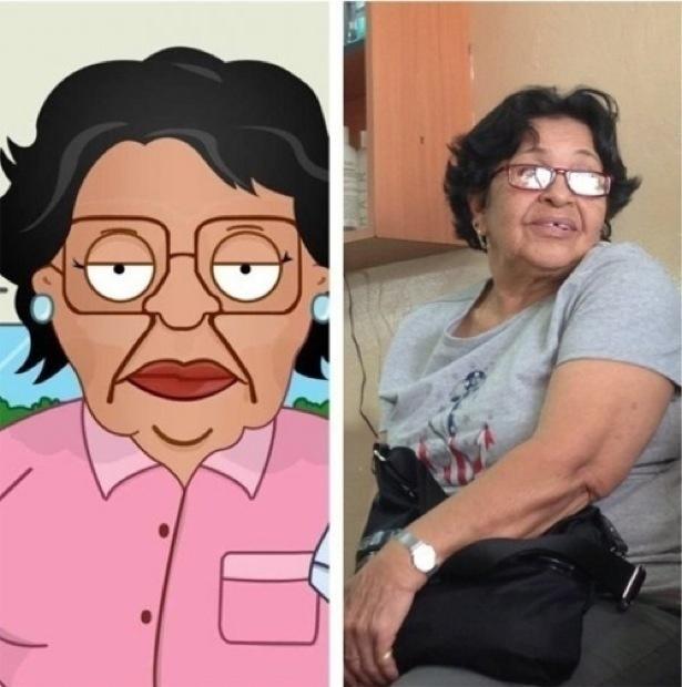 Consuela from Family Guy.