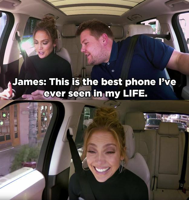 珍妮佛洛佩茲跟「車內卡拉OK」主持傳惡作劇曖昧簡訊給李奧納多,看到李奧的認真回覆你會更愛他!