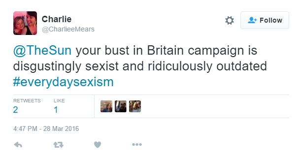 英國知名網路平台舉辦「噴血銷魂乳溝大賽」,結果不到一天的時間主辦單位就緊急喊卡!