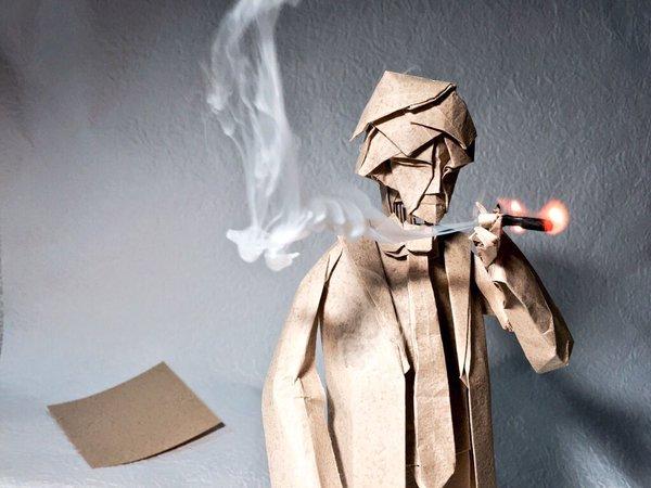 日本網友「將一張紙」摺出的作品放上網,網友看到「隨時要活過來」細節都敬佩到五體投地了!