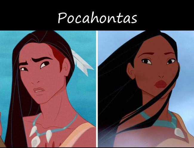如果迪士尼公主都變成男生的話,帥到會讓你要求迪士尼全部重拍!